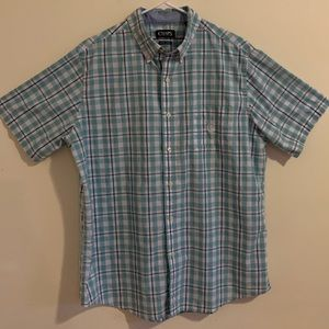 Men's Chaps Short Sleeve Button Down Shirt